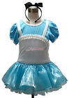Alice In Wonderland Girl Princess Costume Party Dance Dress Ballet Tutu Age 1-9