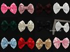 10 Pcs HANDMADE SATIN RIBBON BUTTERFLY BOW TIE APPLIQUES FOR SEWING CRAFT