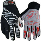 2015 Winter NEW Cycling Bike Bicycle Full Finger Gloves Black  Color Size M - XL