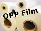 315/440/635mm OPP Laminating / Encapsulating Roll Film - 200m or 1000m (X1 Roll)