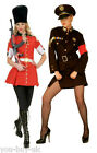 Ladies Royal Guard Fancy Dress Costume Sexy Russian German Soldier Costume