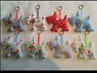 Cath Kidston Fabric Scottie Dog Key Ring Bag Charm Car Charm House Gift Favour