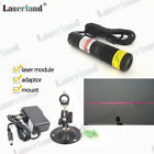 22*120mm 648nm 650nm 50mW Red LINE Laser Module Mitsubishi LD + mount+ adapter