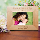 Personalized My First Mothers Day Picture Frame Ist Mothers Day Engraved Frame