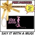 NEW THE PINK PANTHER SOVENEIR NOVELTY PRINTED GIFT MUG CAN BE PERSONALISED