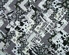 100 x  2 inch  cut squares 100% cotton fabric patchwork/quilting