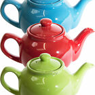 Small Bright 2 Cup Ceramic Teapot Price & Kensington Plain Colour Tea Coffee Pot