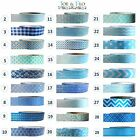 Washi Tape Masking Tape Gift and Craft Tape - BLUE