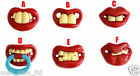 BABY FUNNY DUMMY PACIFIER NOVELTY TEETH CHILD SOOTHER UK SELLER