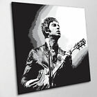 NOEL GALLAGHER - OASIS - PRINT ON CANVAS - Stylish Framed Wall Art - Choose Size