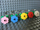 Lego Novelty Keyring Key Ring  Flowers Funky Retro Stand Out Birthday Wedding