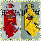 BNWT Disney Car ( Cars ) Boys Swimwear Bathers(Top Shorts) Size 3,4,5,6,7