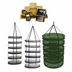 Indoor Garden Drying Rack Hangers - plants harvest crop net herbs collapsible