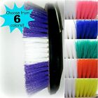 Rubber Grip Two-Tone Poly Bristle Brush...Assorted Colors to choose from...NEW!!