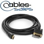 DVI-D Male to Male HDMI Cable 3/10/6/15/25/50ft Gold Plated  HDTV HD PC PS3 XBOX