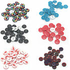 100PCS Resin Round Sewing Buttons Scrapbook Clothes Making DIY Crafts 2/4Holes
