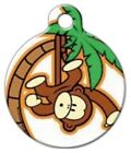 MONKEY BOY - Custom Personalized Pet ID Tag for Dog and Cat Collars