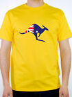 KANGAROO AUSTRALIAN FLAG -Australia / Roo / Skippy / Novelty Themed Mens T-Shirt