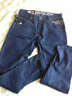 MENS TAPERED RELAXED JEANS SIZES 32W/32L 38W/30L 38W/32L (FREE POSTAGE)
