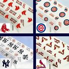 CHOOSE TEAM Cover Table New Cloth Plasitic Official MLB Washable 9' or 2- 4.5'