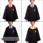 New Harry Potter Adult Gryffindor/Slytherin/Hufflepuff/Ravenclaw Cloak/Scarf/Tie