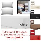 Extra Deep Fitted Sheet 16