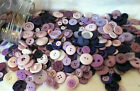 BAG OF BUTTONS -FANTASTIC ASSORTED COLOURS, SHAPES, SIZE  100 grams
