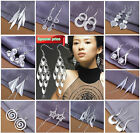 FREE P&P Wholesale Silver Jewellery Solid Silver Earrings Dangle Ladies925 & Box