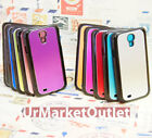 Dual Tone Aluminum Metal Brushed Phone Case Cover for Samsung Galaxy S4 i9500
