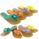 Kids Fashion Flip Flop Flat Beach Flower Sandals Style Thongs Flats Junior Girls