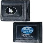 CHOOSE TEAM Money Clip Card Holder New Highest Quality Leather MLB has ID Window