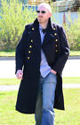 Genuine Soviet Navy Blue AIR FLEET GREAT COAT 34 Inch Chest All Sizes 90% Wool