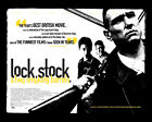 LOCK STOCK AND TWO SMOKING BARRELS (VINNIE JONES) 02 GLOSSY FILM POSTER