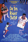 DO THE RIGHT THING (OSSIE DAVIS) A4 MINI FILM POSTER PRINT 01