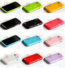 Glitter shining Soft Gel Cover Skin Case For HTC Desire X / Desire V T328w
