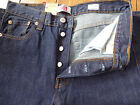 BRAND NEW LEVI'S 501 ORIGINAL FIT JEANS ONE WASH INDIGO WAIST 30 LEG 34