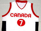 STEVE NASH TEAM CANADA JERSEY WHITE NEW ANY SIZE XS - 5XL