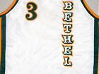 ALLEN IVERSON BETHEL HIGH SCHOOL WHITE JERSEY QUALITY NEW ANY SIZE XS - 5XL