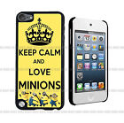 Keep Calm Love Minion Hard Case Cover Made for Ipod Touch 5th Generation