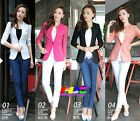 Autumn vogue ladies wonderful three-quarter sleeve lace slim business suit coat