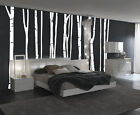 White Birch Tree Large Wall Decal Forest Vinyl Sticker Nursery Removable 9 trees