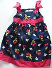 NWT GYMBOREE CHERRY CUTE NAVY CHERRIES POLKA DOT DRESS FALL BACK TO SCHOOL