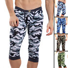 Mens Cargo Army Military Camo Combat Camouflage Leggings Pants Shorts S M L