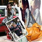 2013 Women Lady Korean Hobo PU Tassel Leather Handbag Shoulder Bag Large Bag