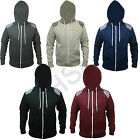 New Mens Aztec Print Zip Up Fleece Hoodies Top Jumper Sweatshirt Hoody Size S-XL