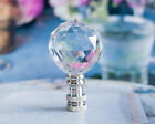 ONE ACRYLIC CRYSTAL - BALL - LAMP SHADE FINIAL