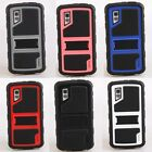For LG Nexus 4 E960 Google Rubber W/Stand Hybrid Hard Soft Rugged Case Cover