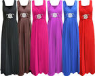 New Laides Plus Size Long Evening Maxi Dress Buckle Waisted  Party Dress