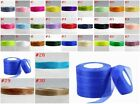 wedding festival 50/100 Yards 3/4''20mm Organza Ribbon 30 kinds of colors U pick