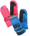 Regatta Blix Mitts Waterproof Kids Mittens 1 - 6 yrs Girls Boys RKG011